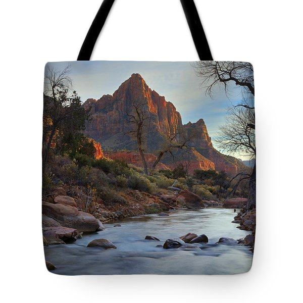 The Watchman In Winter-2 Tote Bag