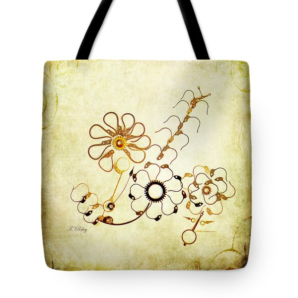 The Watchmans Flower Tote Bag by Fran Riley