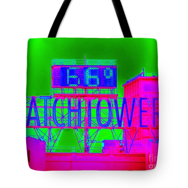 The Watchtower Tote Bag by Ed Weidman