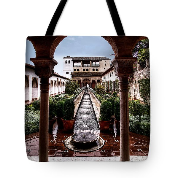 The Water Gardens Tote Bag