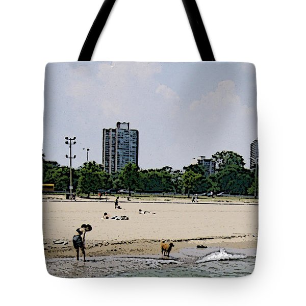 Tote Bag featuring the photograph The Water Is Mesmerizing by Skyler Tipton