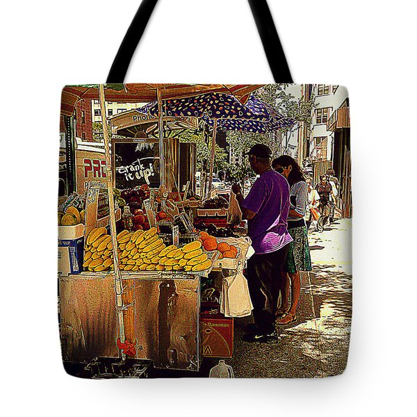 The Water Jug Tote Bag by Miriam Danar