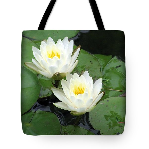 Tote Bag featuring the photograph The Water Lilies Collection - 07 by Pamela Critchlow