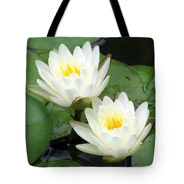 Tote Bag featuring the photograph The Water Lilies Collection - 08 by Pamela Critchlow