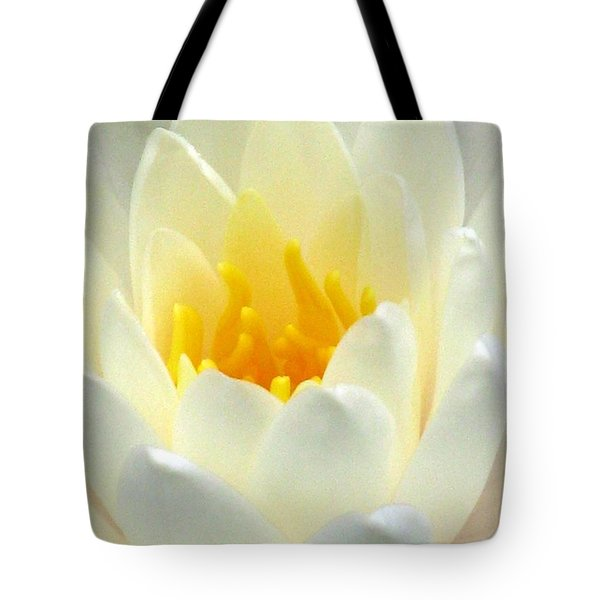 Tote Bag featuring the photograph The Water Lilies Collection - 10 by Pamela Critchlow