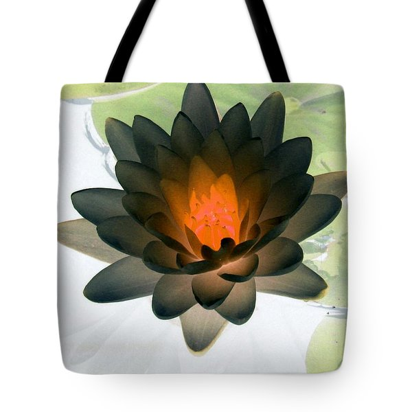 Tote Bag featuring the photograph The Water Lilies Collection - Photopower 1035 by Pamela Critchlow