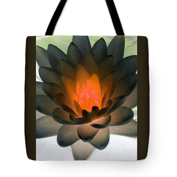 Tote Bag featuring the photograph The Water Lilies Collection - Photopower 1036 by Pamela Critchlow