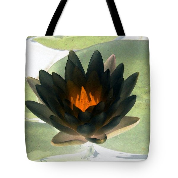 Tote Bag featuring the photograph The Water Lilies Collection - Photopower 1037 by Pamela Critchlow