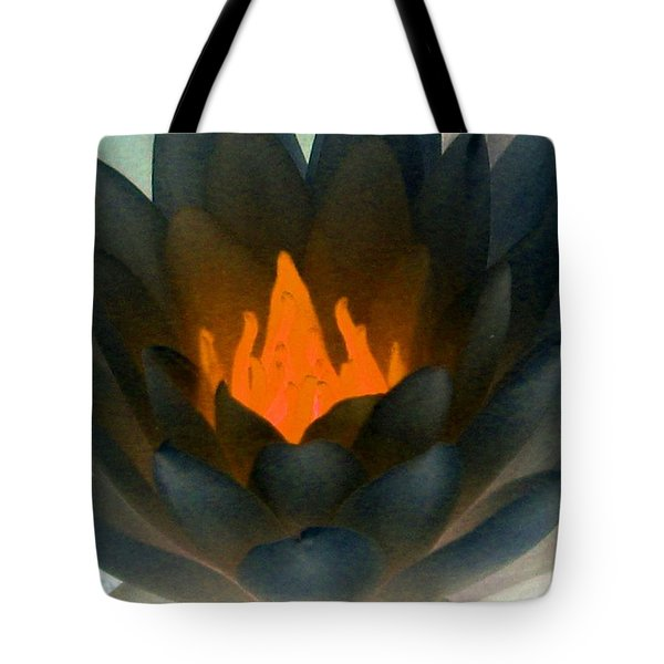 Tote Bag featuring the photograph The Water Lilies Collection - Photopower 1038 by Pamela Critchlow