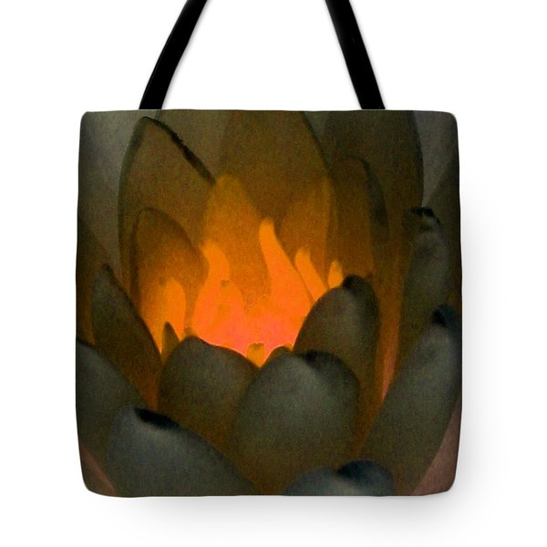 Tote Bag featuring the photograph The Water Lilies Collection - Photopower 1043 by Pamela Critchlow