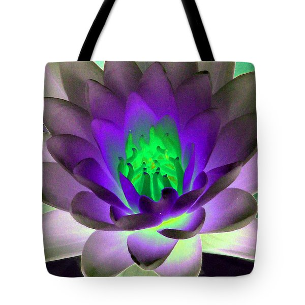 Tote Bag featuring the photograph The Water Lilies Collection - Photopower 1115 by Pamela Critchlow