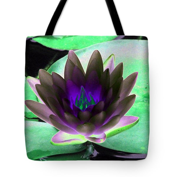 Tote Bag featuring the photograph The Water Lilies Collection - Photopower 1116 by Pamela Critchlow