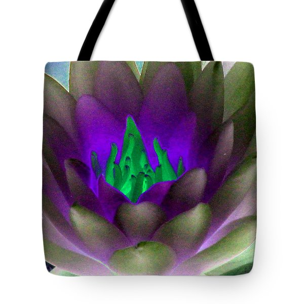 Tote Bag featuring the photograph The Water Lilies Collection - Photopower 1117 by Pamela Critchlow