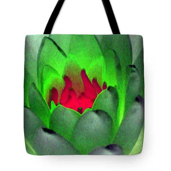 Tote Bag featuring the photograph The Water Lilies Collection - Photopower 1122 by Pamela Critchlow