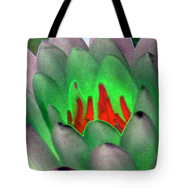 Tote Bag featuring the photograph The Water Lilies Collection - Photopower 1123 by Pamela Critchlow
