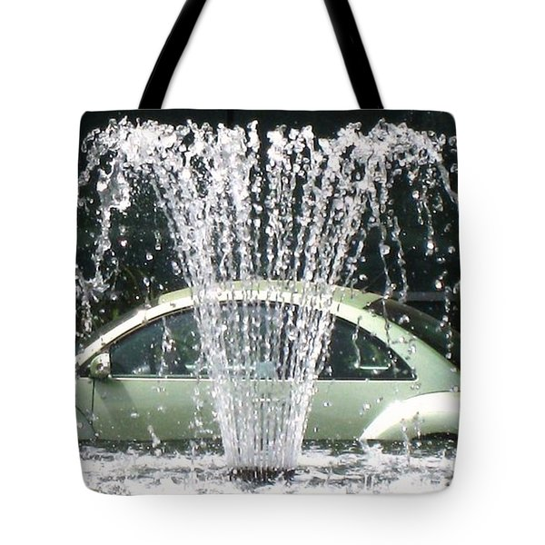 Tote Bag featuring the photograph The  Waterbug by John King