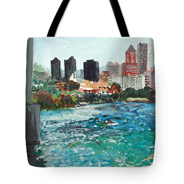 The Waterfront Tote Bag by Joseph Demaree