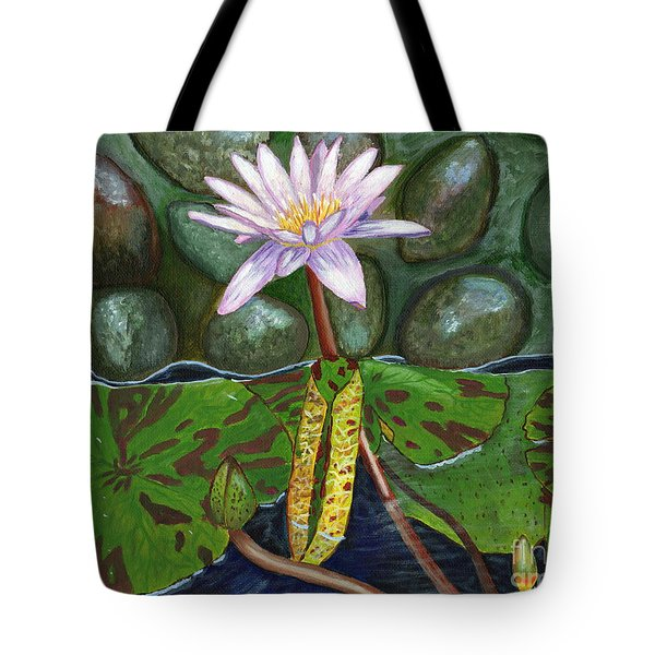 The Waterlily Tote Bag