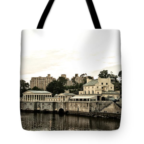 The Waterworks Tote Bag by Bill Cannon