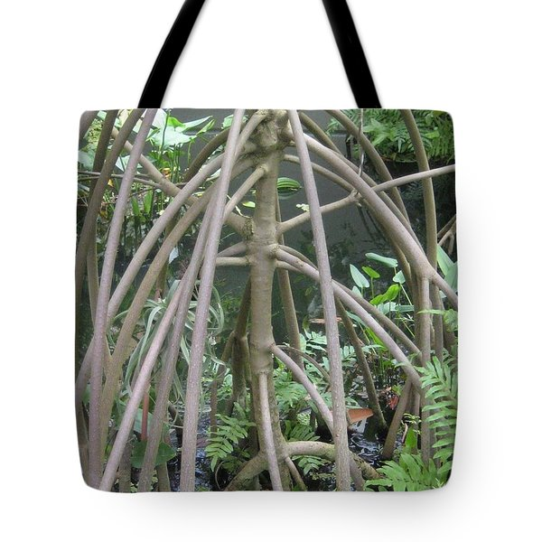The Watery Thunder Dome Tote Bag
