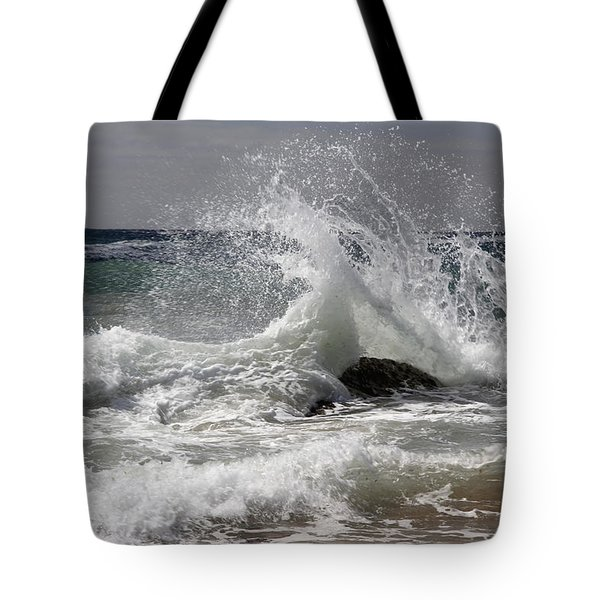 The Wave And The Rock Tote Bag by Jennifer Kathleen Phillips