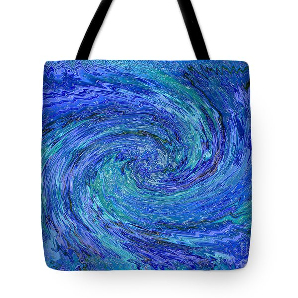 The Wave Tote Bag by Carol Groenen