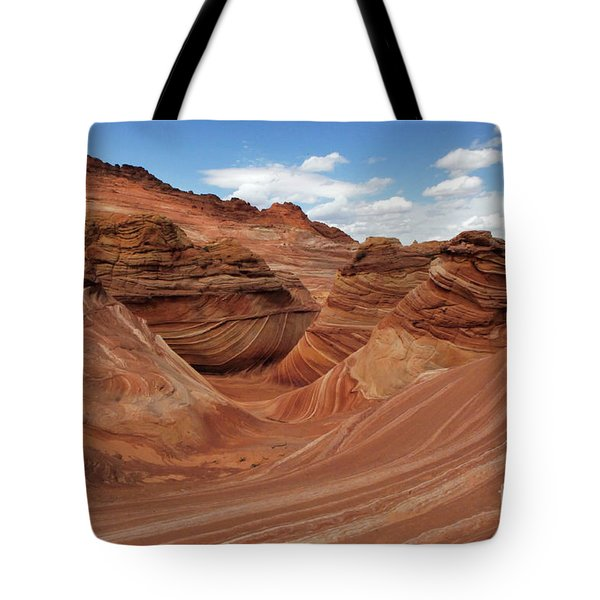 The Wave Center Of The Universe Tote Bag