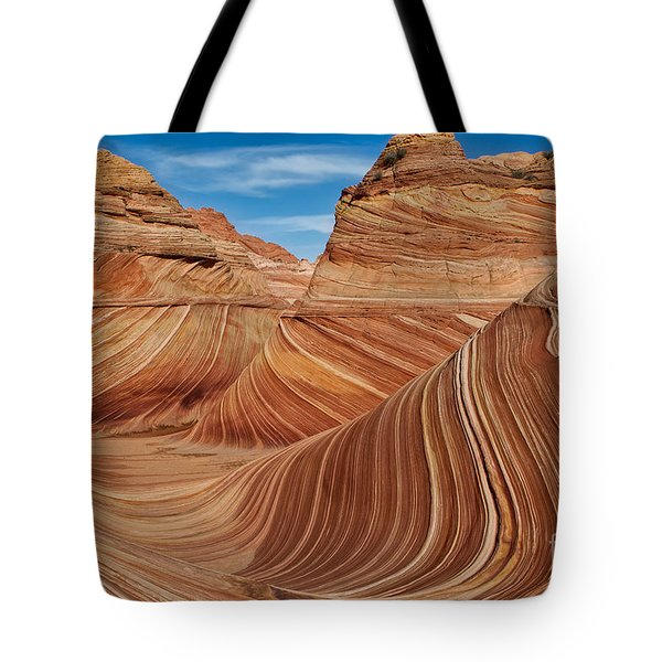The  Wave Tote Bag by Jerry Fornarotto