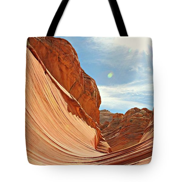 The Wave Rock #1 Tote Bag