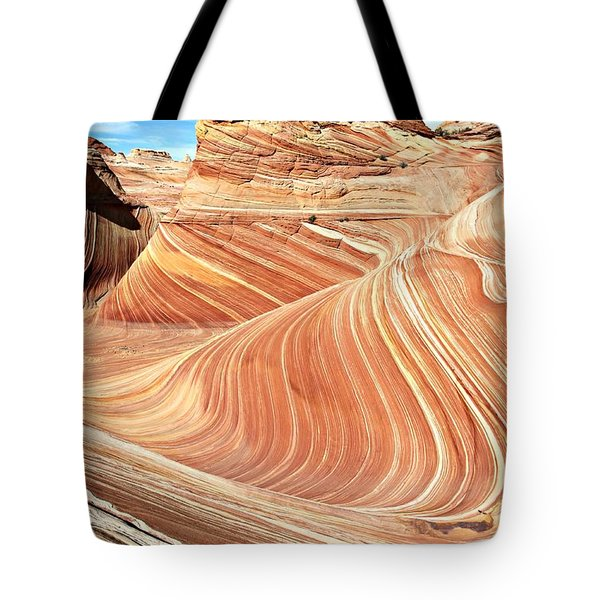 The Wave Rock #2 Tote Bag