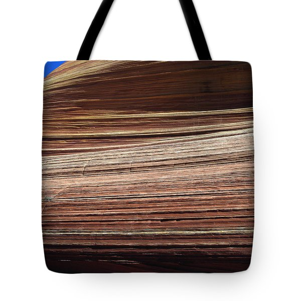 'the Wave' North Coyote Buttes 06 Tote Bag by Jeff Brunton