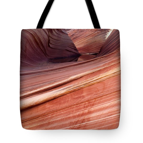 'the Wave' North Coyote Buttes 62 Tote Bag by Jeff Brunton