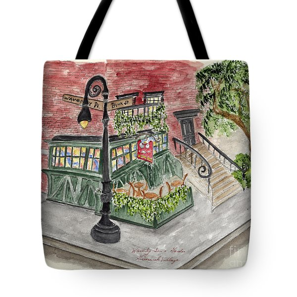 The Waverly Inn And Garden Tote Bag