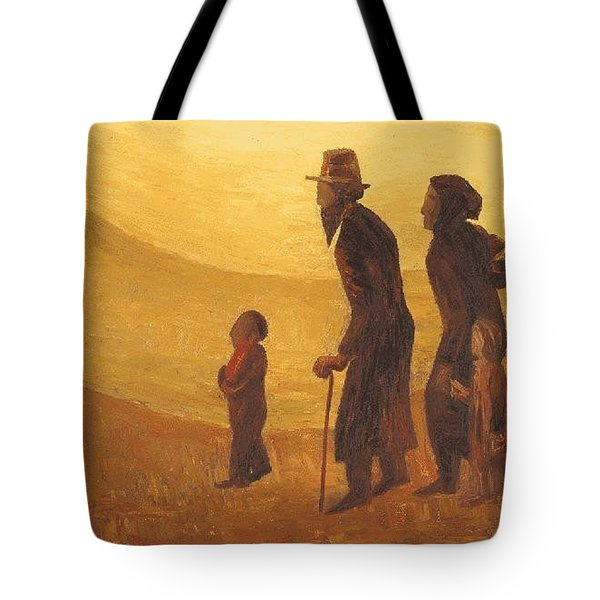 The Way - Aliyah Tote Bag by Israel Tsvaygenbaum