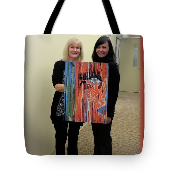 The Way Eye See It Tote Bag by Kathleen Sartoris