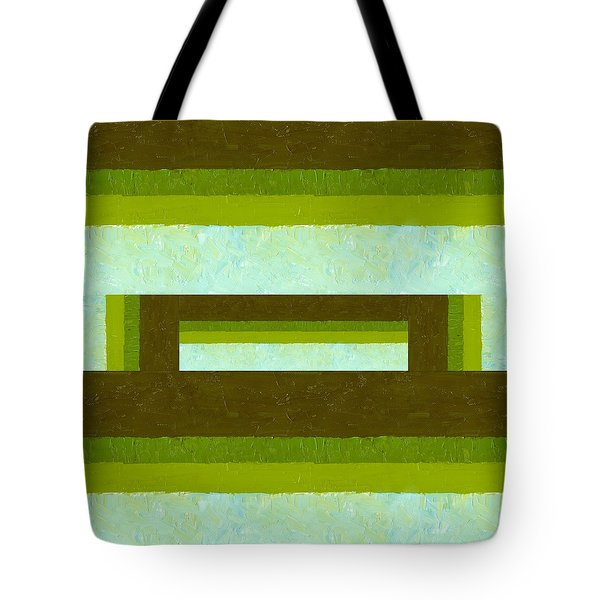 The Way Is Shut Tote Bag by Michelle Calkins