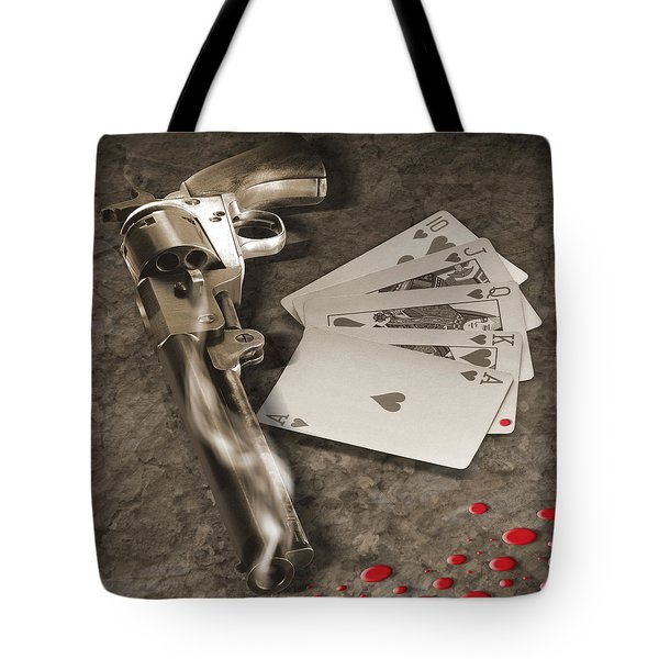 The Way Of The Gun Part 1 Tote Bag by Mike McGlothlen