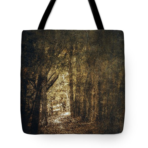 The Way Out Tote Bag by Scott Norris