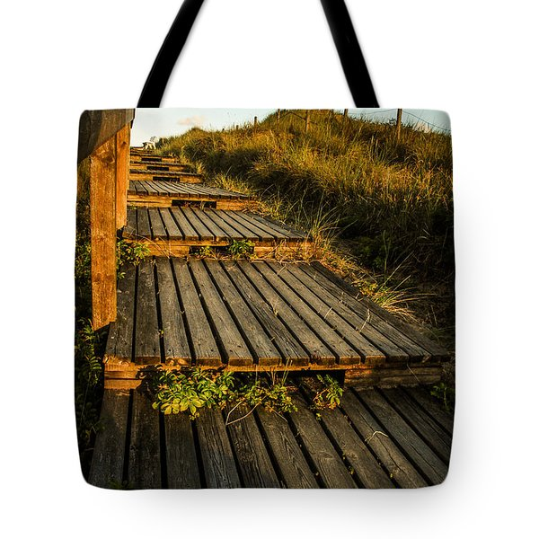 The Way To The Sea Tote Bag by Hannes Cmarits