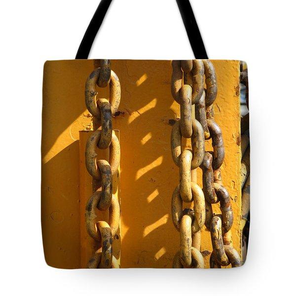 The Weakest Link Tote Bag