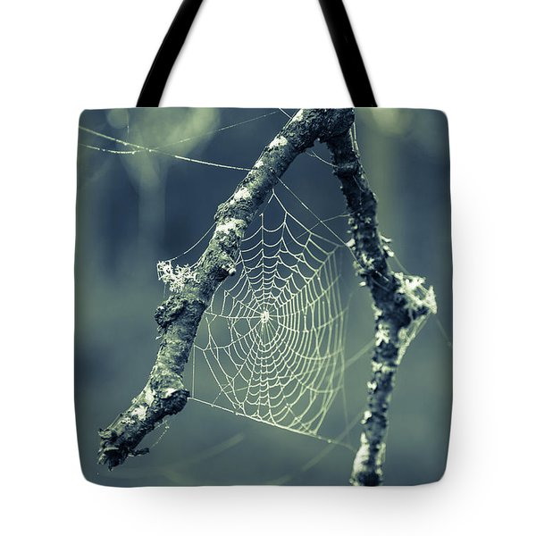 The Webs We Weave Tote Bag by Edward Fielding