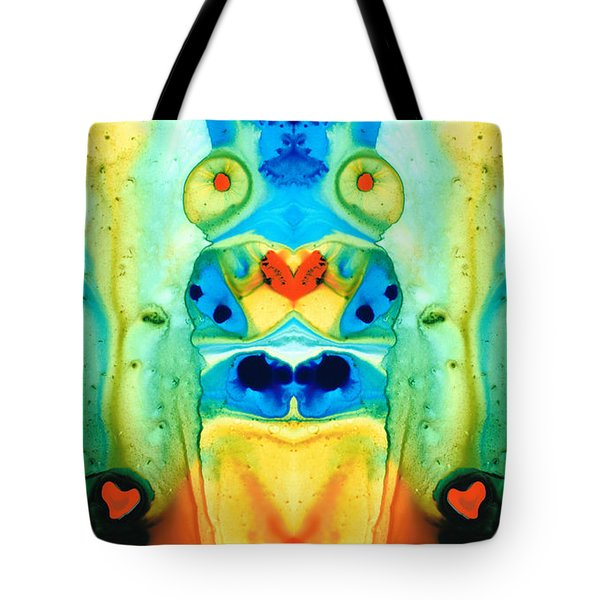 The Wedding - Abstract Art By Sharon Cummings Tote Bag