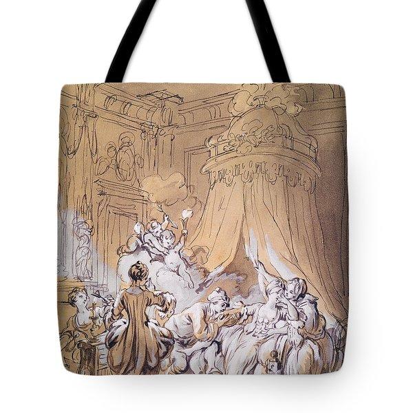The Wedding Night Tote Bag