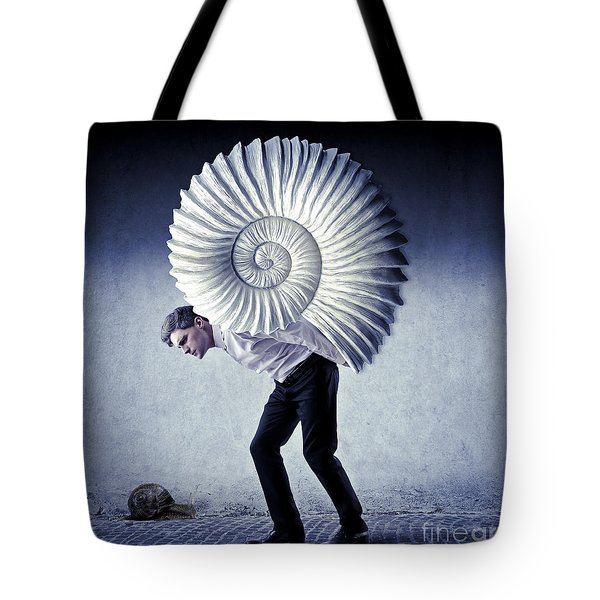 The Weight Of Life Tote Bag