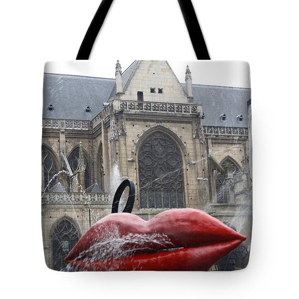 The Wet Kiss Tote Bag