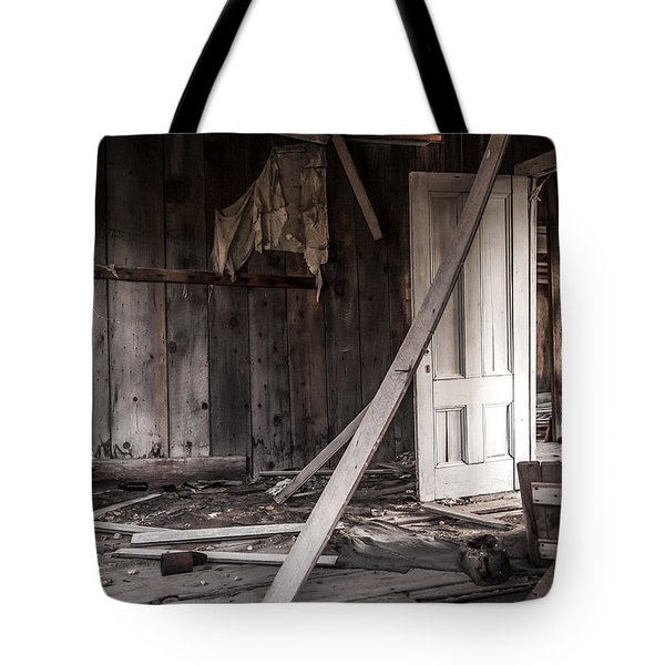 The White Door Tote Bag