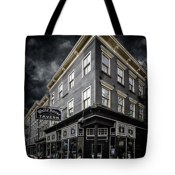 The White Horse Tavern Tote Bag