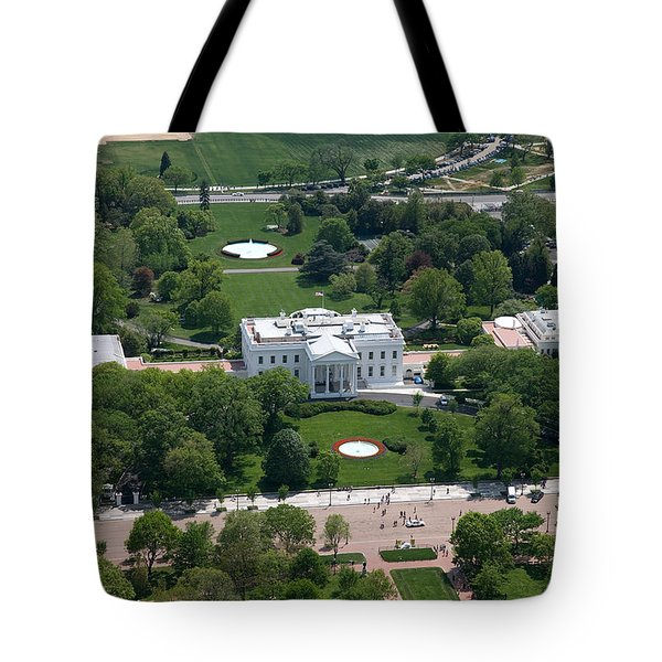 The White House Tote Bag by Carol Highsmith