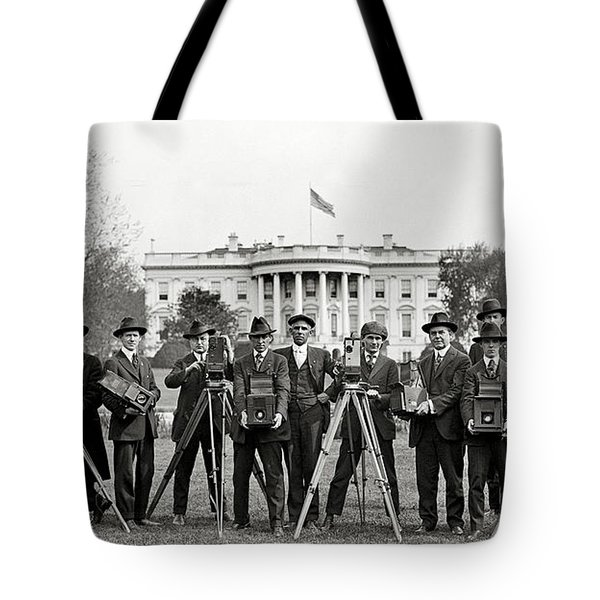 The White House Photographers Tote Bag by Jon Neidert
