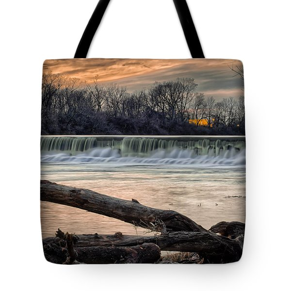 The White River Tote Bag